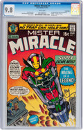 Bronze Age (1970-1979):Superhero, Mister Miracle #1 Twin Cities pedigree (DC, 1971) CGC NM/MT 9.8White pages....