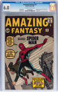 Silver Age (1956-1969):Superhero, Amazing Fantasy #15 (Marvel, 1962) CGC FN 6.0 Off-white to whitepages....