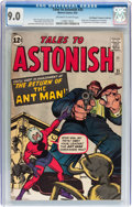 Silver Age (1956-1969):Superhero, Tales to Astonish #35 Don/Maggie Thompson Collection pedigree (Marvel, 1962) CGC VF/NM 9.0 Off-white to white pages....