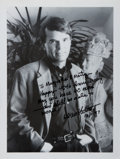 Autographs:Authors, Dean Koontz. Signed and Inscribed Photograph. 8 x 10 inches. Very good....