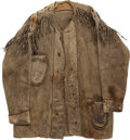 Military & Patriotic:Indian Wars, George Armstrong Custer: An Elk Skin Jacket Owned and Worn by Him, and Later Gifted by Elizabeth Custer. ...