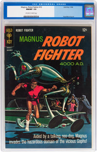 Magnus Robot Fighter #16 (Gold Key, 1966) CGC NM/MT 9.8 Off-white to white pages