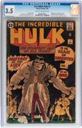Silver Age (1956-1969):Superhero, The Incredible Hulk #1 (Marvel, 1962) CGC VG- 3.5 Cream to off-white pages....