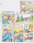 Original Comic Art:Complete Story, Don Lomax The Boys in the Basement Original Art Group(undated).. ... (Total: 5 Original Art)