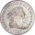 Early Dollars, 1797 $1 10x6 Stars, Large Letters MS62 PCGS. B-3, BB-71, R.2....