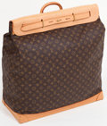 Luxury Accessories:Travel/Trunks, Louis Vuitton Classic Monogram Canvas Steamer Bag. ...