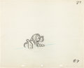 Animation Art:Production Drawing, Mickey's Christmas Carol Ebenezer Scrooge ProductionDrawings by Glen Keane (Walt Disney, 1983).... (Total: 2Illustration Art)