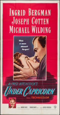 """Movie Posters:Hitchcock, Under Capricorn (Warner Brothers, 1949). Three Sheet (41"""" X 79"""").Hitchcock.. ..."""