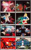 """Movie Posters:Animation, Coonskin (Bryanston, 1975). Mini Lobby Card Set of 8 (8"""" X 10""""). Animation.. ... (Total: 8 Items)"""
