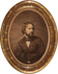 Political:3D & Other Display (pre-1896), John C. Fremont: A Very Rare Salt Print Photo Presented by Fremont to his 1856 Running Mate William L. Dayton. ...