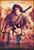 "Movie Posters:Adventure, The Last of the Mohicans (20th Century Fox, 1992). One Sheet(26.75"" X 39.75"") DS. Adventure.. ..."