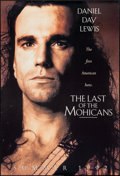 """Movie Posters:Adventure, The Last of the Mohicans (20th Century Fox, 1992). One Sheet(26.75"""" X 39.75"""") DS Advance. Adventure.. ..."""