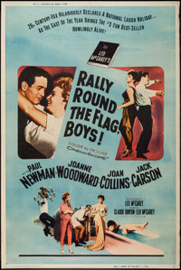 "Rally 'Round the Flag, Boys! (20th Century Fox, 1959). Poster (40"" X 60"") Style Y. Comedy"