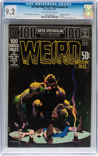 DC 100-Page Super Spectacular #4 Weird Mystery Tales (DC, 1971) CGC NM- 9.2 Off-white to white pages