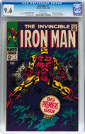Silver Age (1956-1969):Superhero, Iron Man #1 (Marvel, 1968) CGC NM+ 9.6 White pages....