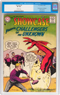 Silver Age (1956-1969):Superhero, Showcase #6 Challengers of the Unknown (DC, 1957) CGC VF 8.0Off-white pages....