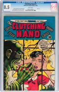 Golden Age (1938-1955):Horror, Clutching Hand #1 (ACG, 1954) CGC VF+ 8.5 White pages....