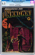 Golden Age (1938-1955):Horror, Adventures Into The Unknown #1 (ACG, 1948) CGC FN+ 6.5 Off-white towhite pages....
