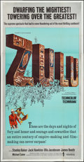 "Movie Posters:War, Zulu (Embassy, 1964). Three Sheet (41"" X 78""). War.. ..."
