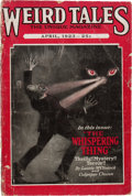 Pulps:Horror, Weird Tales April '23 (Popular Fiction, 1923) Condition: FR....