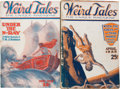 Pulps:Horror, Weird Tales Group (Popular Fiction, 1925).... (Total: 2 )