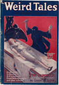 Pulps:Horror, Weird Tales - September '25 (Popular Fiction, 1925) Condition: VG+....