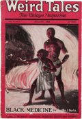 Pulps:Horror, Weird Tales - August '25 (Popular Fiction, 1925) Condition: VG....