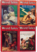 Pulps:Horror, Weird Tales Group (Popular Fiction, 1926) Condition: Average VG....(Total: 11 )