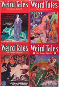 Pulps:Horror, Weird Tales Group (Popular Fiction, 1930-32) Condition: AverageVG/FN.... (Total: 10 Items)