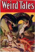 Pulps:Horror, Weird Tales - December '32 First Appearance of Conan (PopularFiction, 1932) Condition: FN-....