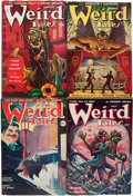 Pulps:Horror, Weird Tales (Popular Fiction, 1949-50) Condition: Average FN-....(Total: 12 Items)
