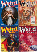 Pulps:Horror, Weird Tales Group (Popular Fiction, 1953-54) Condition: AverageVF.... (Total: 12 Items)