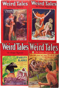 Pulps:Horror, Weird Tales - Robert E. Howard Horror Group (Popular Fiction,1928-38) Condition: Average VG/FN.... (Total: 16 Items)