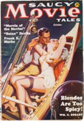 Pulps:Adventure, Saucy Movie Tales - October '36 (Movie Digest, 1936) Condition: FN+....