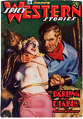Pulps:Western, Spicy Western Stories - January '37 (Culture, 1937) Condition: FN....