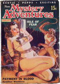 Pulps:Adventure, New Mystery Adventures - February '36 (Pierre Publications, 1936)Condition: VG....