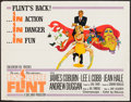 """Movie Posters:Action, In Like Flint (20th Century Fox, 1967). Half Sheet (22"""" X 28"""").Action.. ..."""