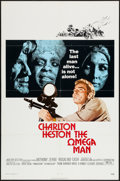 """Movie Posters:Science Fiction, The Omega Man (Warner Brothers, 1971). One Sheet (27"""" X 41"""").Science Fiction.. ..."""
