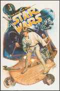 """Movie Posters:Science Fiction, Star Wars: The First Ten Years (Killian Enterprises, 1987).Autographed Limited Edition Print (27"""" X 41""""). Science Fiction...."""