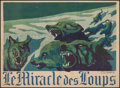 """Movie Posters:Adventure, The Miracle of the Wolves (Exclusivités Jean de Merly, 1924).French Affiche (30"""" X 21.75""""). Adventure.. ..."""