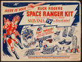 "Movie Posters:Science Fiction, Buck Rogers Space Ranger Kit (Sylvania Electric Products Inc.,1952). Kit (Envelope with Multiple Cardboard Pieces, 11.5"" X ..."
