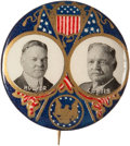 "Political:Pinback Buttons (1896-present), Hoover & Curtis: A Beautiful 1¼"" 1928 Jugate Design, the Mateto the Smith and FDR Versions Offered Elsewhere in this Auction...."