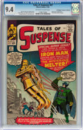 Silver Age (1956-1969):Superhero, Tales of Suspense #47 Don/Maggie Thompson Collection pedigree(Marvel, 1963) CGC NM 9.4 Off-white to white pages....