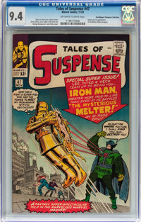 Tales of Suspense #47 Don/Maggie Thompson Collection pedigree (Marvel, 1963) CGC NM 9.4 Off-white to white pages