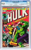 Bronze Age (1970-1979):Superhero, The Incredible Hulk #181 Don/Maggie Thompson Collection pedigree(Marvel, 1974) CGC NM/MT 9.8 White pages....