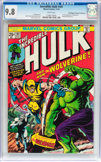 The Incredible Hulk #181 Don/Maggie Thompson Collection pedigree (Marvel, 1974) CGC NM/MT 9.8 White pages
