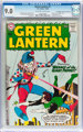 Green Lantern #1 Don/Maggie Thompson Collection pedigree (DC, 1960) CGC VF/NM 9.0 Off-white to white pages