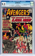 Silver Age (1956-1969):Superhero, The Avengers #5 Don/Maggie Thompson Collection pedigree (Marvel,1964) CGC NM- 9.2 White pages....