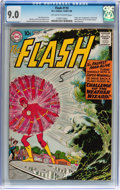 Silver Age (1956-1969):Superhero, The Flash #110 (DC, 1959) CGC VF/NM 9.0 Off-white to white pages....