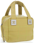 Luxury Accessories:Bags, Chanel Chartreuse Caviar Leather small Bowling Bag with GunmetalHardware. ...